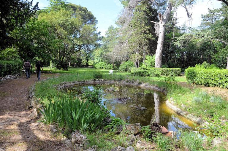 Jardin du domaine de Saliès