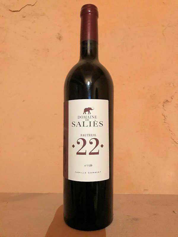 Fauteuil 2 Vin rouge