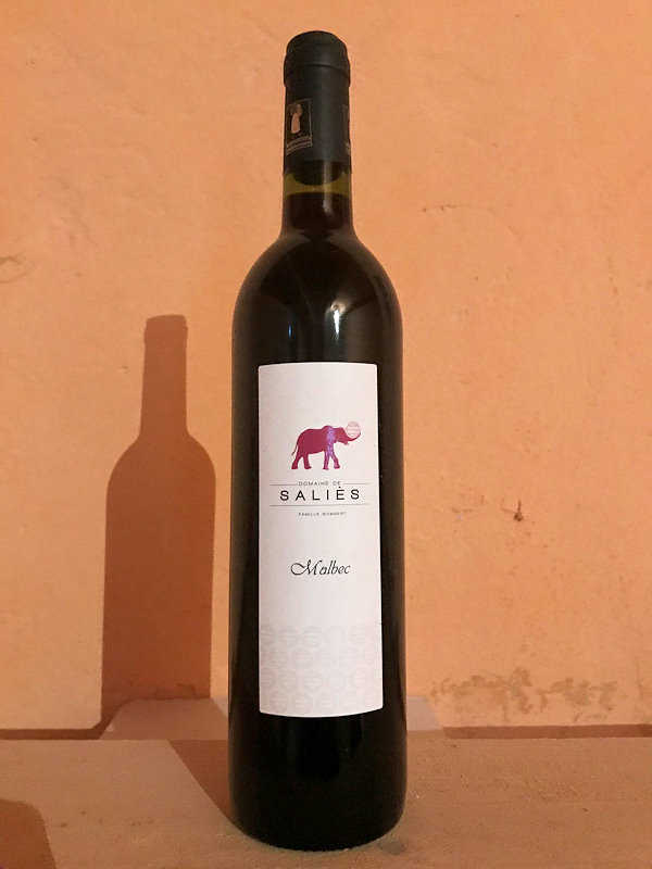 Malbec vin rouge 2017