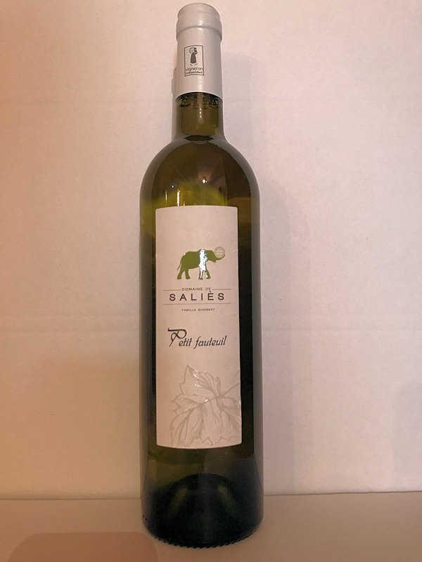 Petit fauteille vin blanc 2019